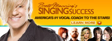 Singing Success by Brett Manning review and customer opinion